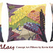 Mary Blair Disney Art Pillows