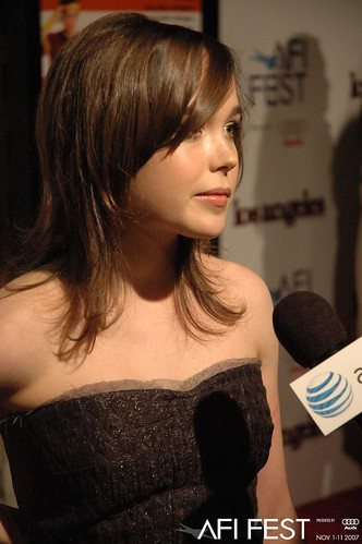 Ellen Page at AFI FEST 2007 for Juno | Ellen Page at gala pr ... Ellen Page