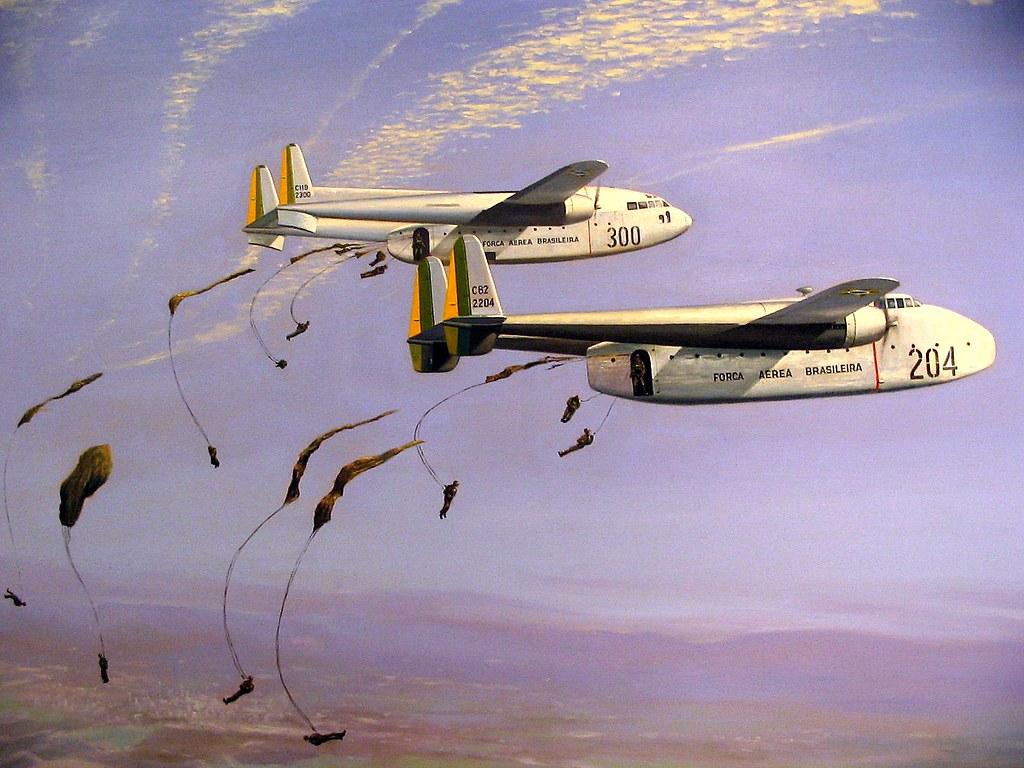 C-119 Flying Boxcar - C-82 Packet, Força Aérea Brasileira ...