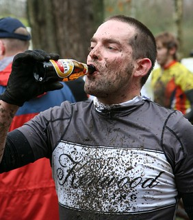 usual post race refreshment | by Trina Ritchie