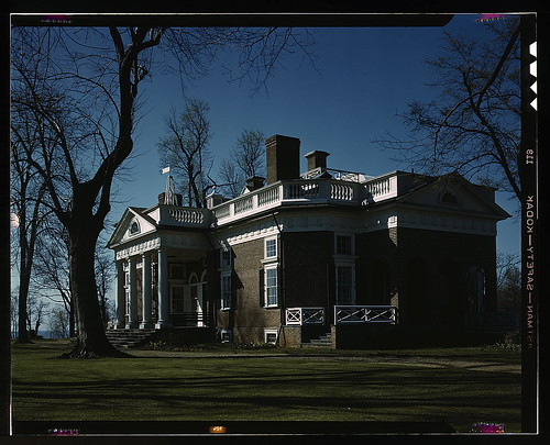 Monticello, home of Thomas Jefferson, Charlottesville, Va.  (LOC) | by The Library of Congress