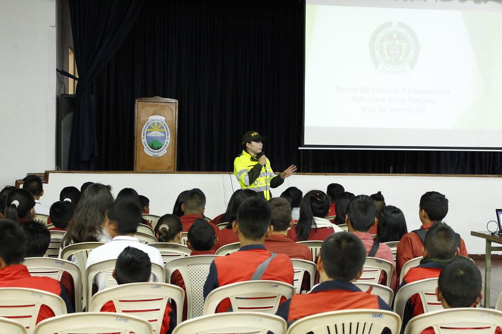 sensibilización pedagógica, sobre el nuevo código de Policía