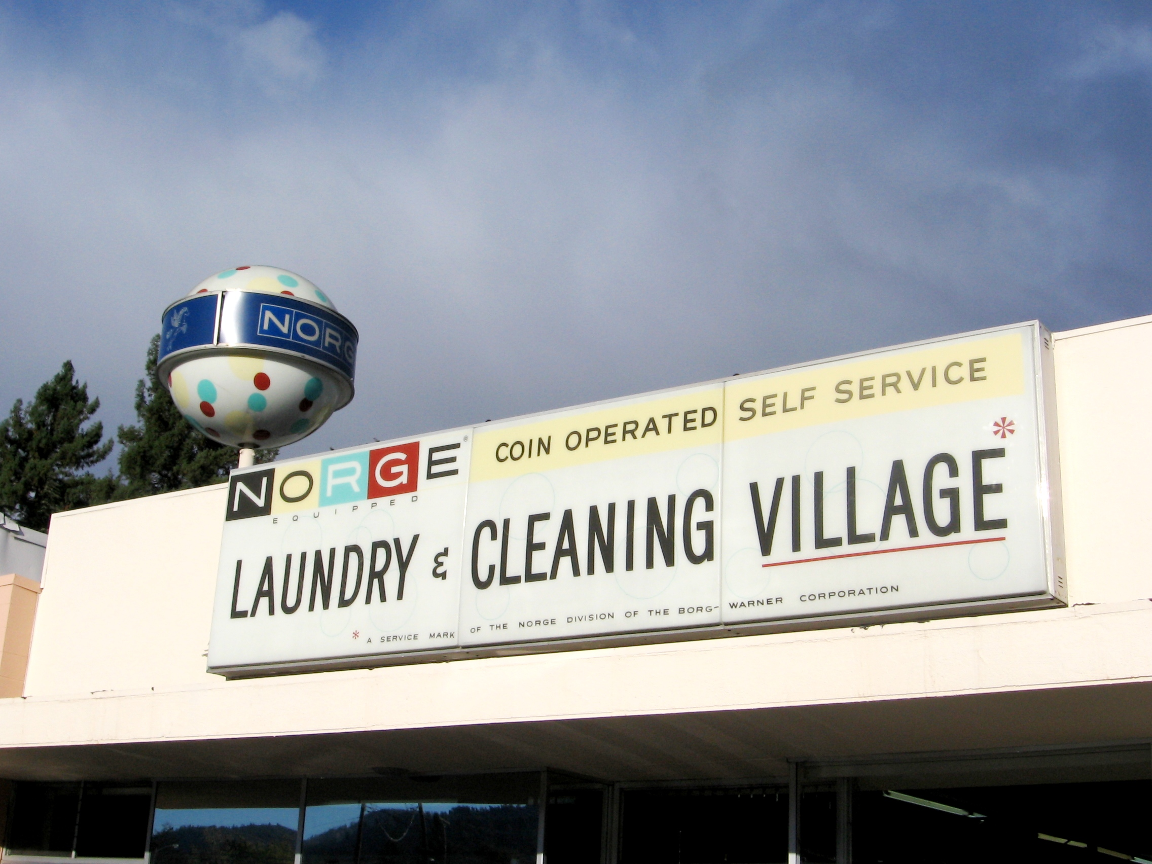 A Norge Cleaners and Full Services - 723 South State Street, Ukiah, CAalifornia U.S.A. - October 5, 2007