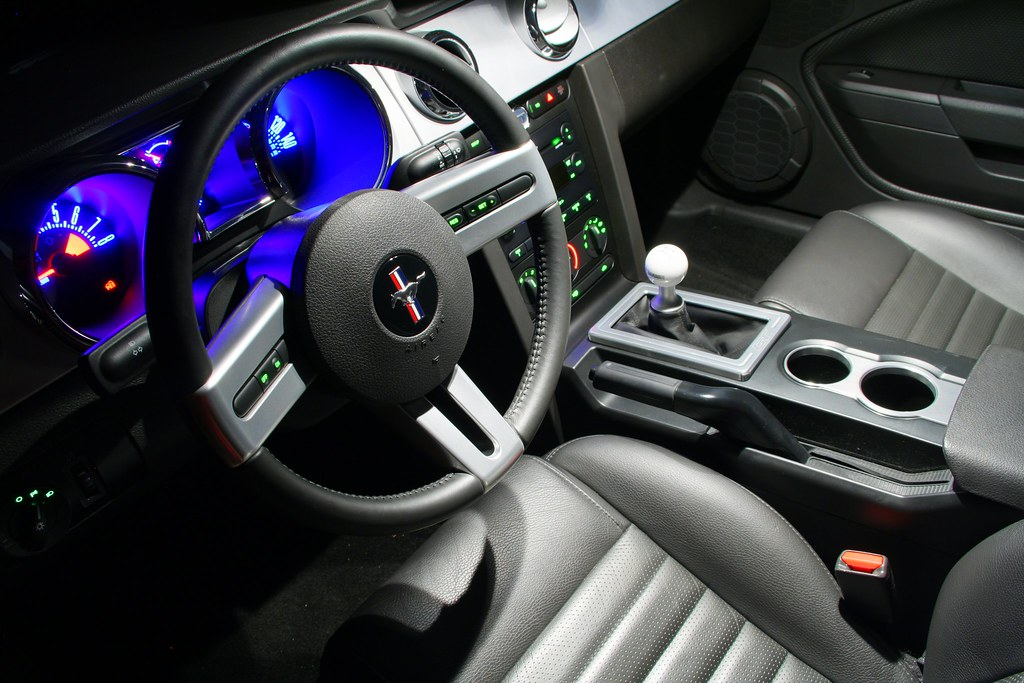 ... 2007 Mustang GT Interior   By QCPhotoPro