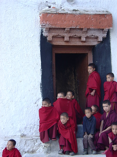 Monks at Likir Monastery, Ladakh | by Anar Memon