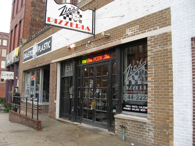 Pizza Places Downtown Kitchener