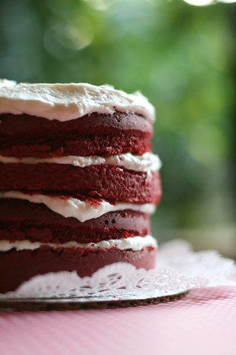 Red Velvet Dream Cake | by Bakerella