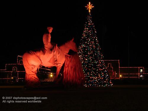 Texas Tech Christmas Lights