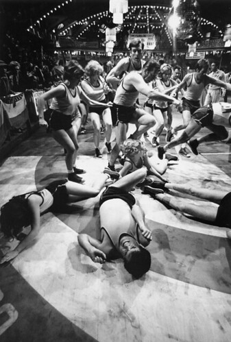Contestants pile up in scene from 'They Shoot Horses Don't They?', 1969 | by Bob Willoughby