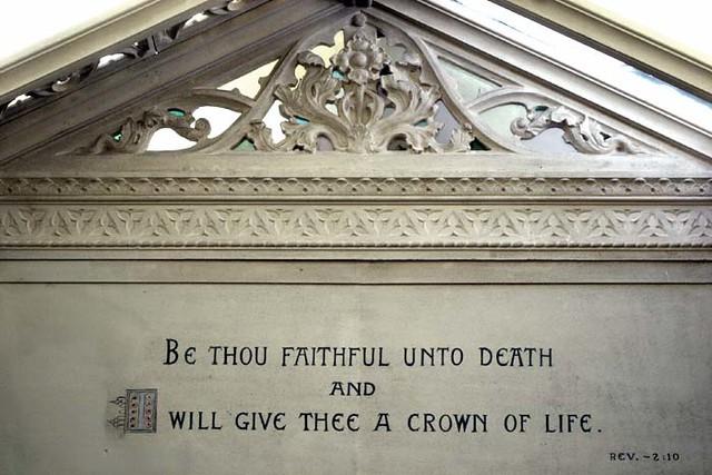 Be Thou Faithful Unto Death | FBC Radio