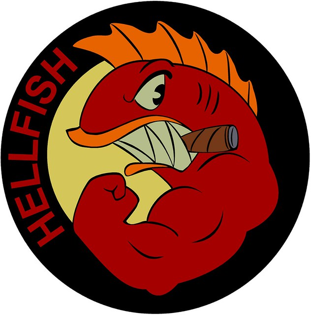 Hellfish Logo The Quot Final Quot Vector Trace Tweak From A