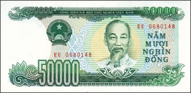 ... Tiền giấy 50.000 VNĐ - Mặt trước | by Khắp mọi miền đất nước Việt Nam