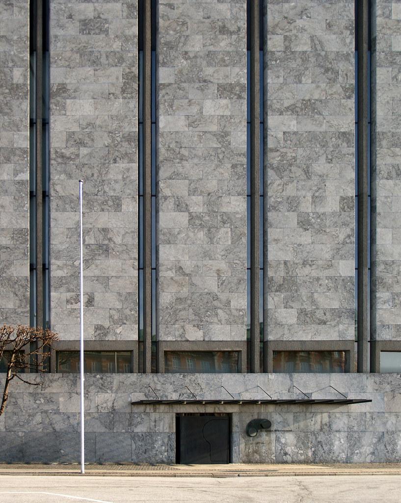 Arne Jacobsen National Bank Copenhagen 1961 1978 Flickr
