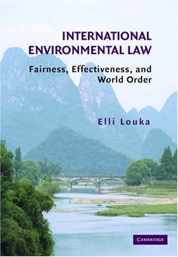 Environmental Law Guidelines And Principles On Shared Natural Resources
