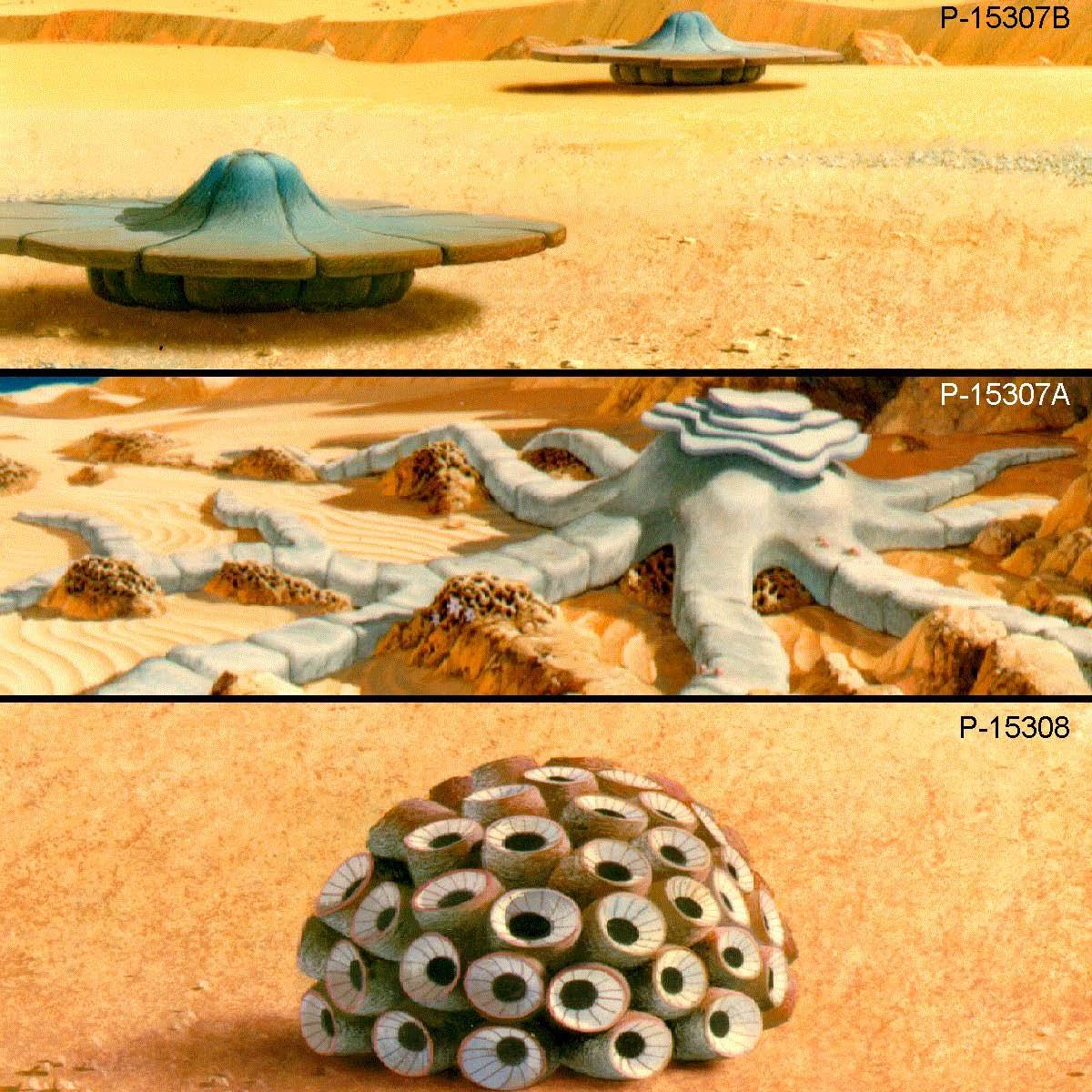 Nasa concept artists, life on Mars 1975