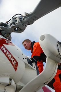 Frigid flying: Coast Guard aircrews take on New England Winter