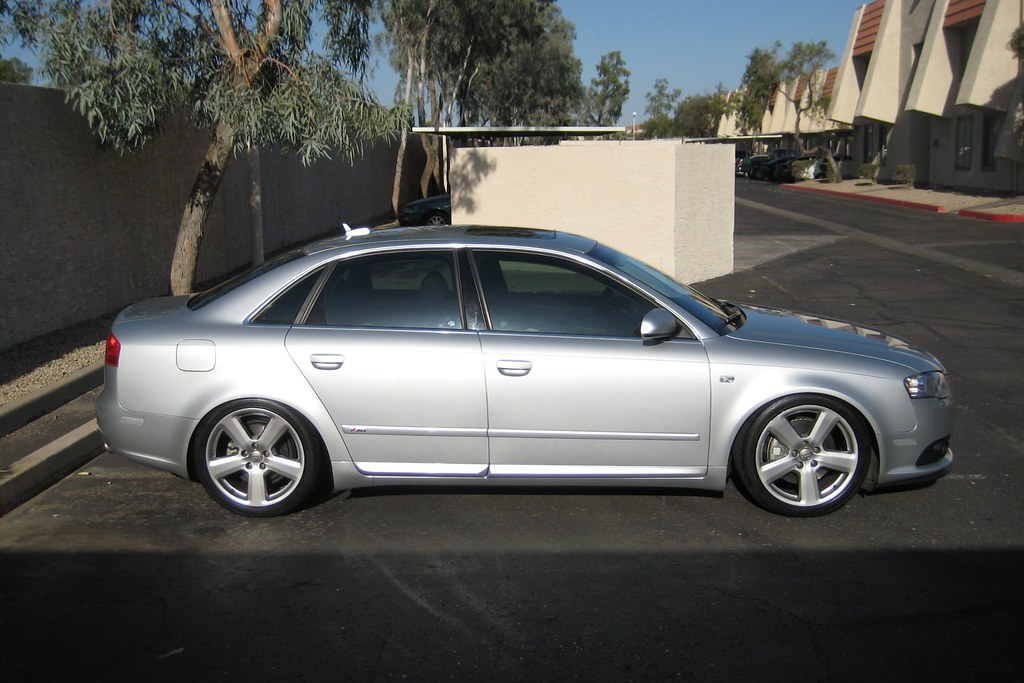 B7 Audi A4 W Koni Coilovers Super Sunny In Arizona The