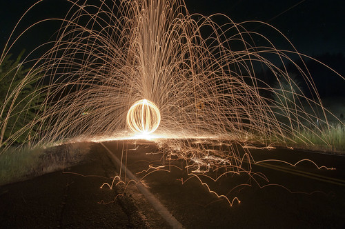 Steel Wool in the Street | by Photo Extremist