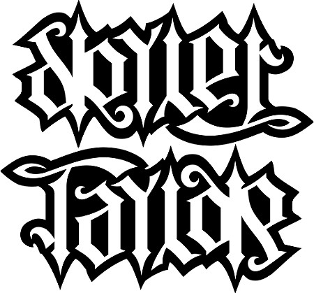 Skyler Amp Taylor Ambigram His A Custom Ambigram Of