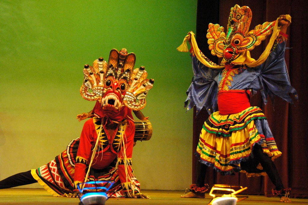Raksha Natuma | The Devil Dance, a south Sri Lankan masked ...