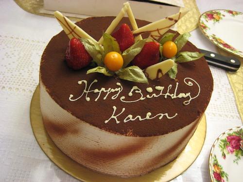 happy birthday karen! | 04/28/08: my best friend's chocolate ...