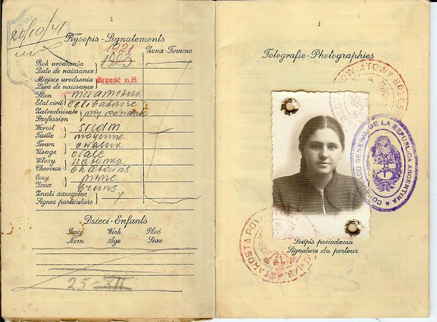 Poland Jewish Passport scan0036 | Polish Passport for ...