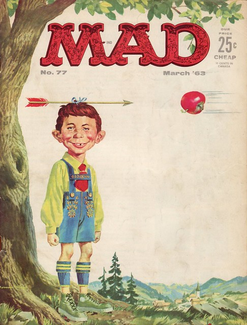 mad magazine cover march 1963 jasperdo flickr