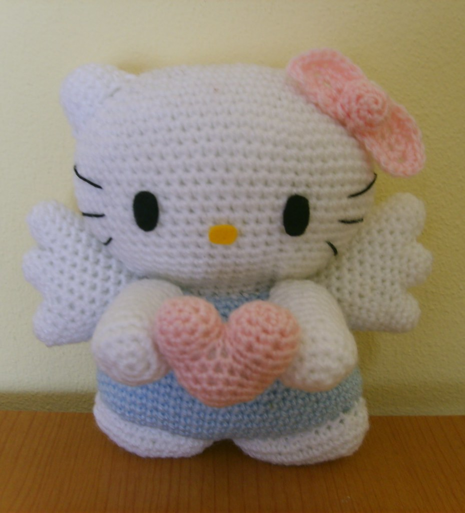 Hello Kitty Angel amigurumi Sabina Flickr