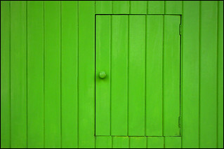 Behind the Green Door... | by röy_