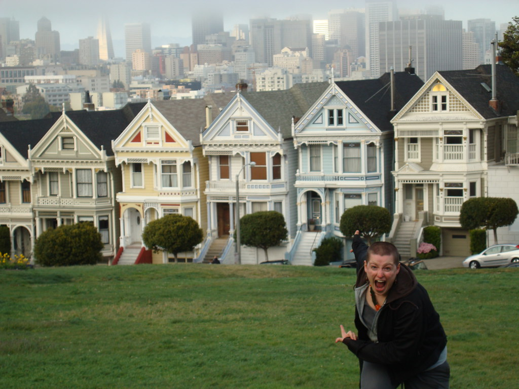 Beautiful ... That Park And Those Houses From The Full House Theme Song   By Sarahdopp