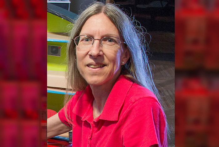 Sandy Frost is an electrical and computer engineer who, as a Scientist Ambassador, teaches how software and coding are integral to our lives.