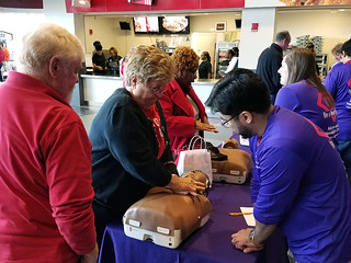 2017 Hands-Only CPR Training at UofL Men's Basketball