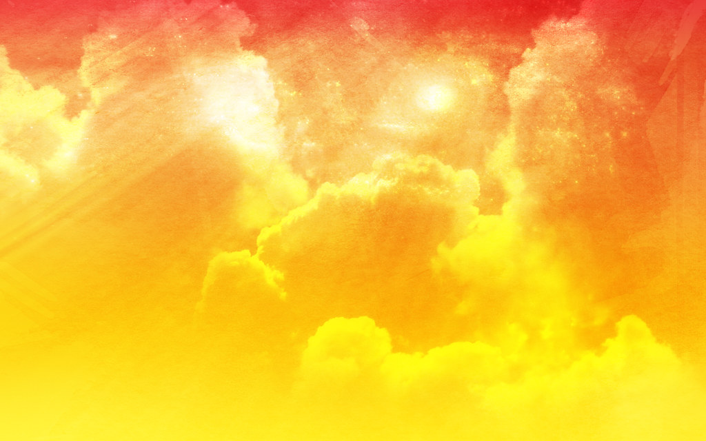 Free Abstract Cloudy Sky Bright Orange Peel Background ...