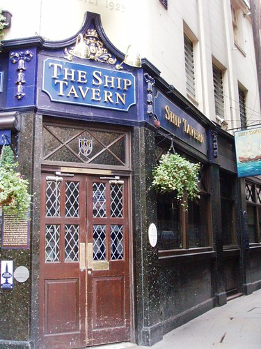 Ship Tavern, Holborn, WC2 | by Ewan-M