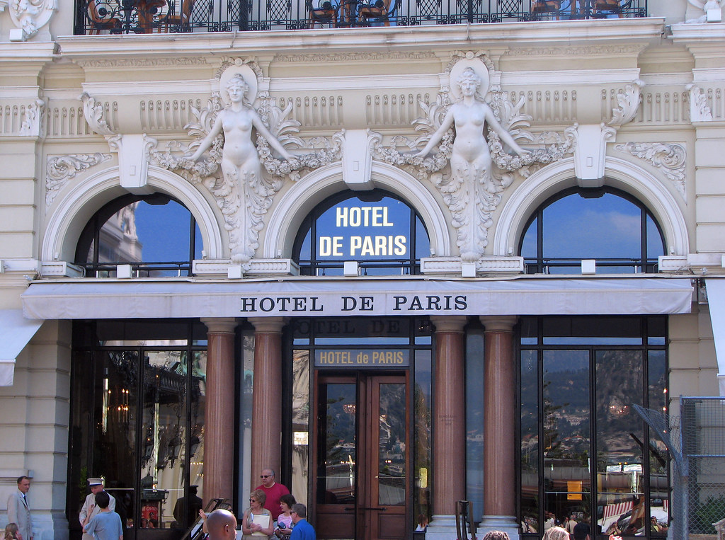 Monte Carlo Hotel De Paris 5 Star Hotel Built In 1863