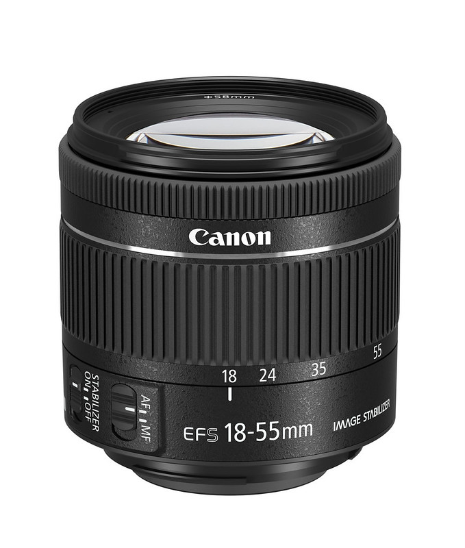 Canon EF-S18-55mm f/4-5.6 IS STM; photo courtesy of Canon