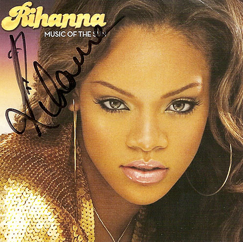 Rihanna - Signed | Bid on this and other items to raise ...