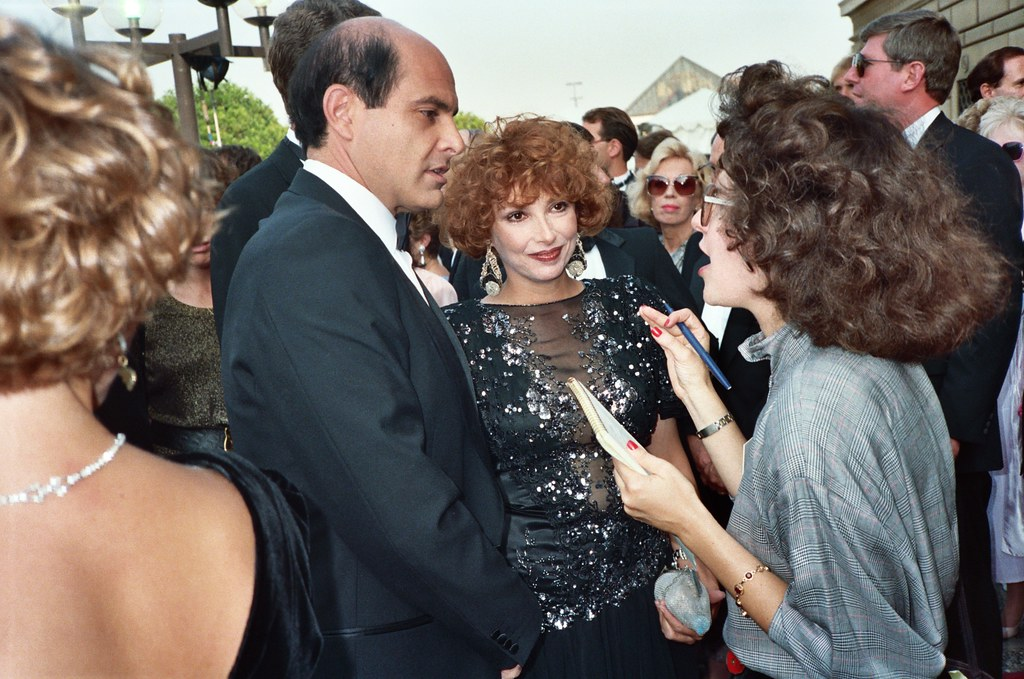 Alan Rachins Joanna Frank 1987 Emmy Awards Note