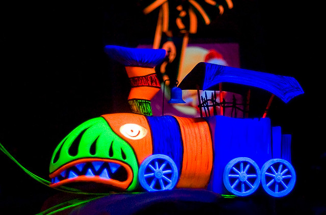 Nightmare Before Christmas Train | A toy train from the Haun… | Flickr