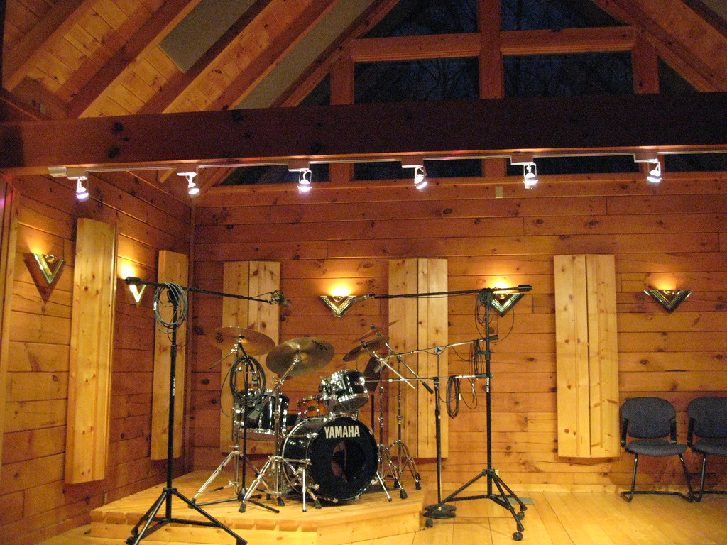 Drum Room Creative Caffeine Studio All Wood Tracking