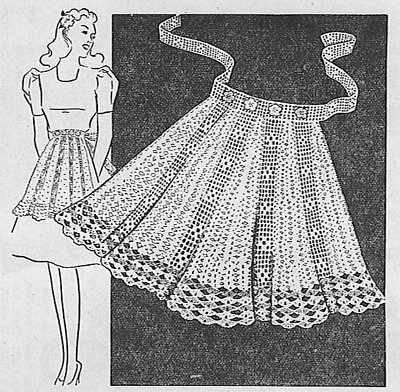 Crocheted Apron | by *mia*