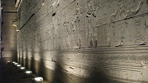 Hieroglyphs, Temple of Isis, Philae | by Dale Gillard