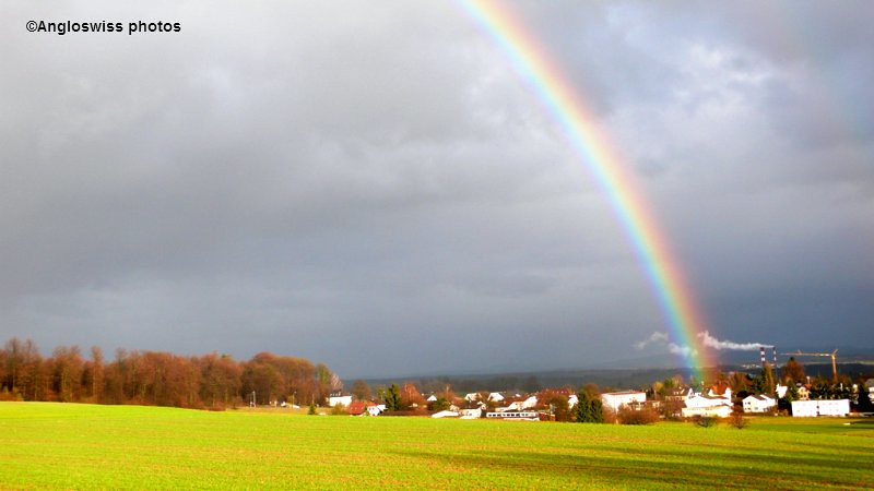 Rainbow over Feldbrunnen