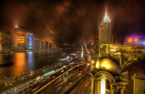 The Bund in the Rain | by Stuck in Customs