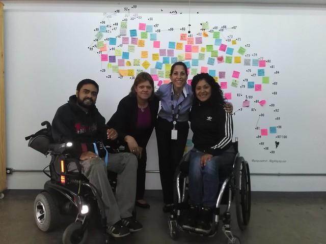 Charla sobre discapacidad en el Impact Hub