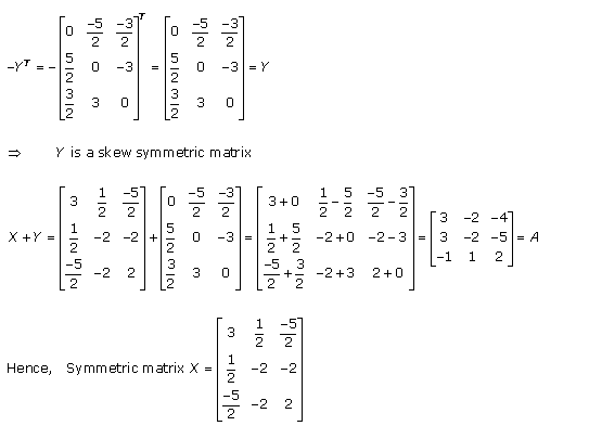 RD Sharma Class 12 Solutions Chapter 5 Algebra of Matrices Ex 5.5 Q8-2