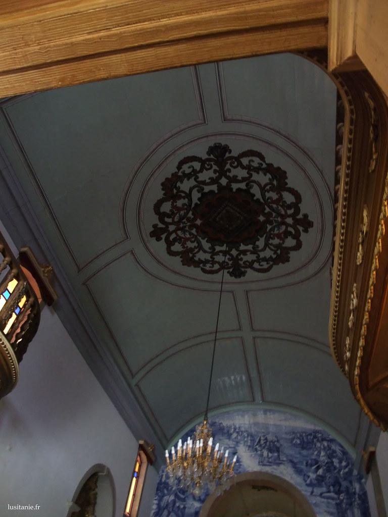 Plafond de l'église de Pombal