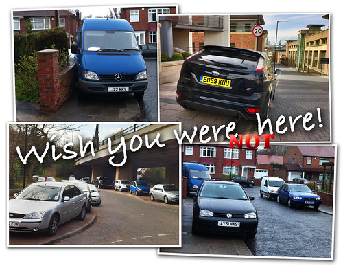 Postcard to Motorists: Wish You Were Not Here | by carltonreid
