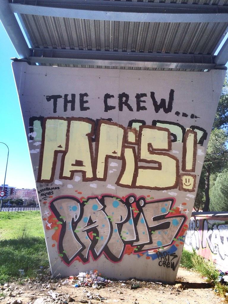 Entrada A La Casa De Campo De Madrid Campamento Graffit Flickr - Graffitis-en-casa