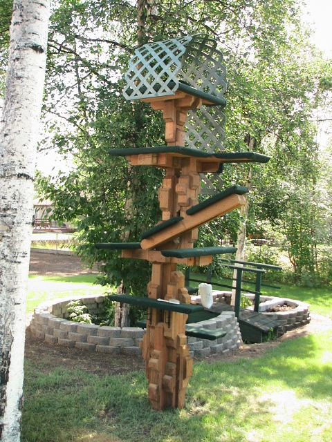 ... Outdoor Cat Tree | By Aces Spade♤